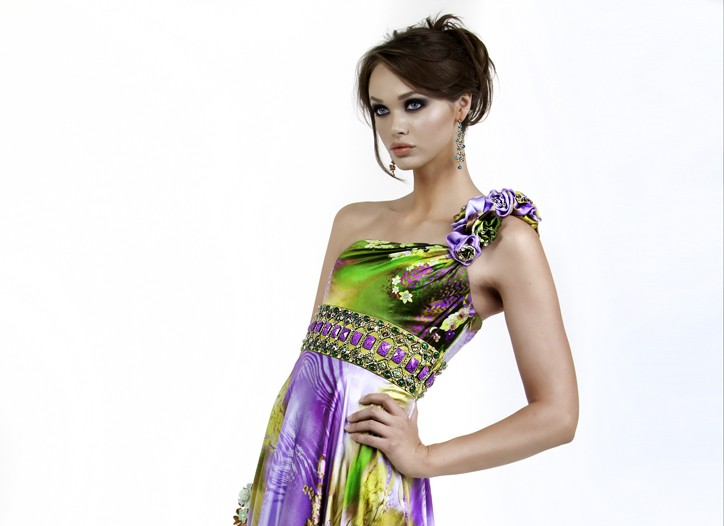 A prom dress from Jovani.