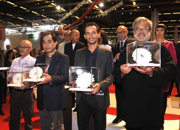 Recipients of Première Vision's first PV Awards.