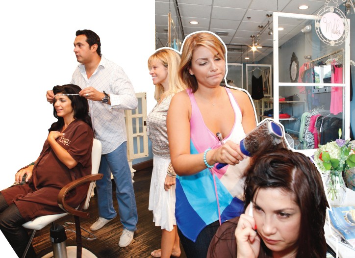 Behind the scenes at Chateau the Art of Beauty, the New Jersey salon that's become the star of Bravo's most talked-about TV show.