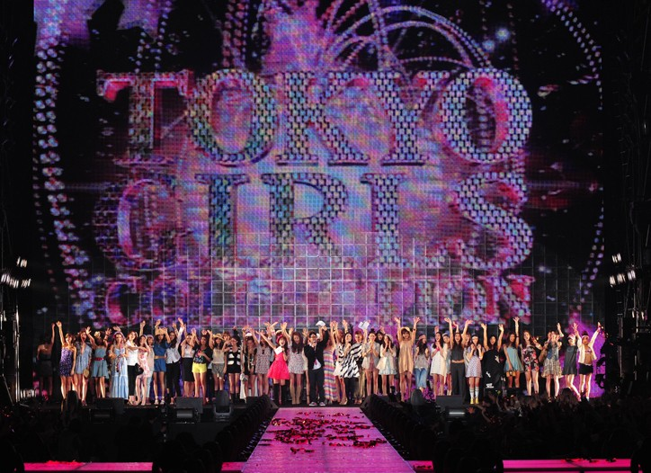 The Tokyo Girls Collection show will last six-and-a-half hours.