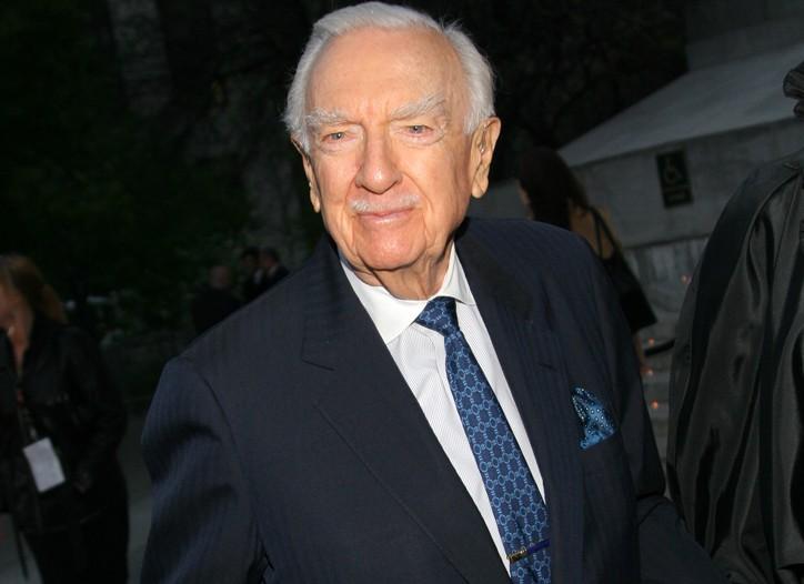 Walter Cronkite in 2006.