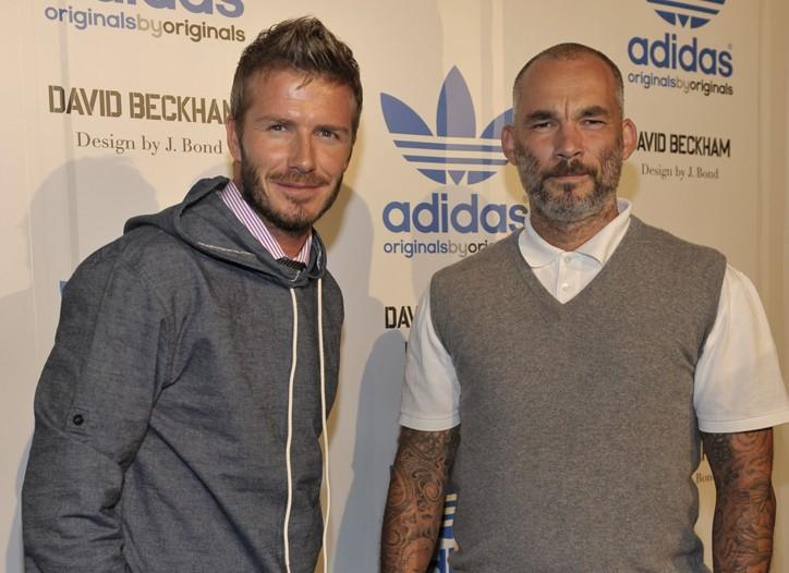 David Beckham and James Bond