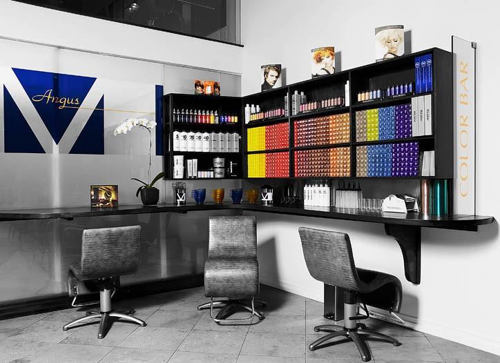 The Angus M salon.