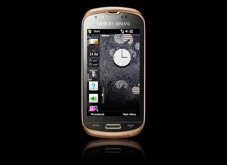 A Giorgio Armani phone.