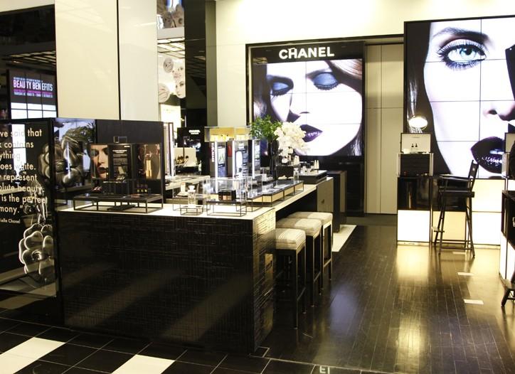Chanel inside Bloomingdale's.