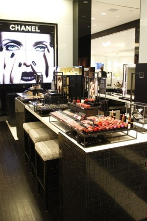 The Chanel space.