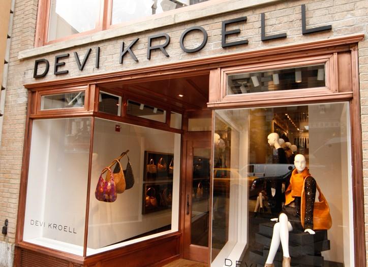 Devi Kroell's Madison Avenue flagship.
