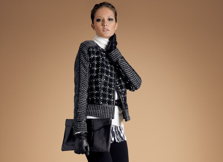 A look from Ellen Tracy's fall 2009 line.