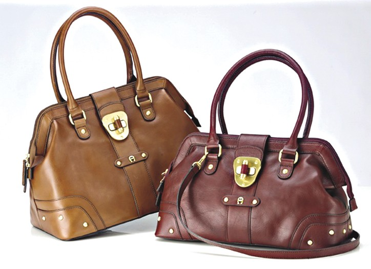 Two bags from Etienne Aigner.