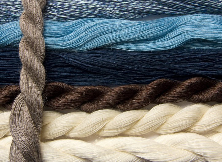 Muted and blue tones were dominant trends.