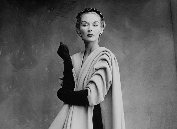 Lisa Fonssagrives-Penn in Balenciaga, 1950.