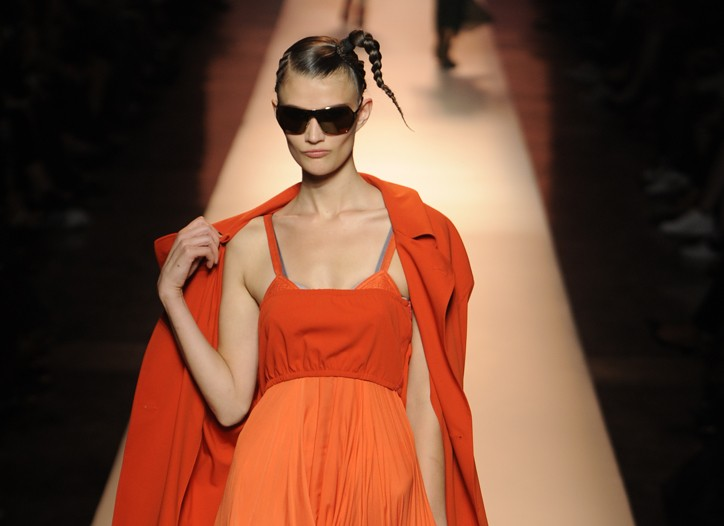 A spring look from Jean Paul Gaultier.