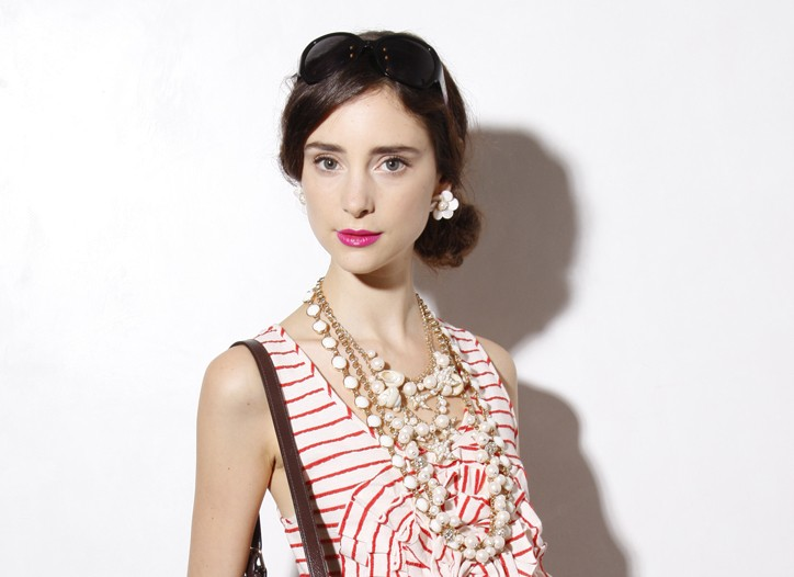 A look from Kate Spade for spring.