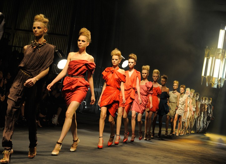 Lanvin's Paris show is to be reprised in Tokyo.