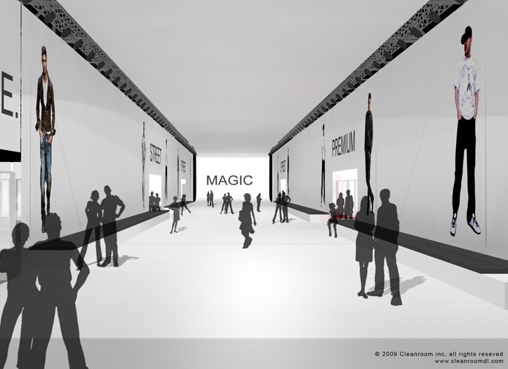 The MAGIC show will be divided into separate halls by market.