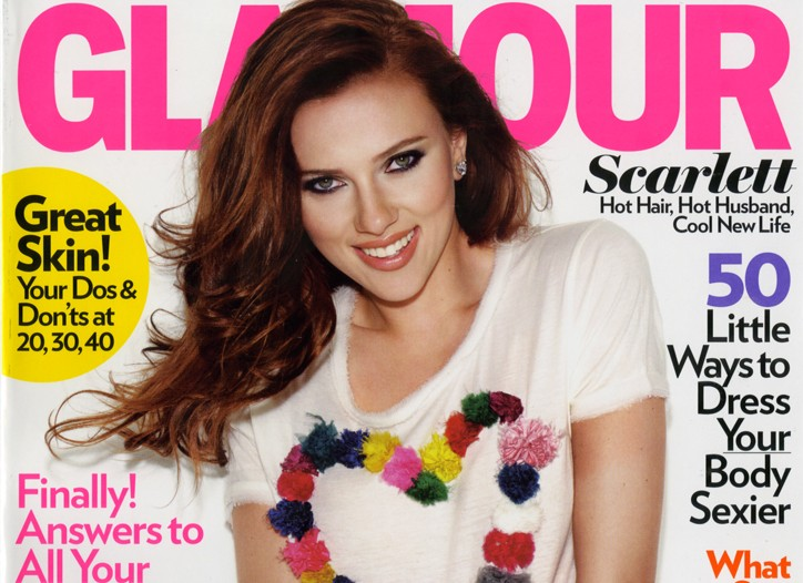 Cover of Glamour.
