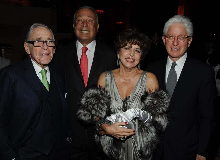 Martin Miller, Jerome Fisher, Madge Miller and Israel Museum director James Snyder.