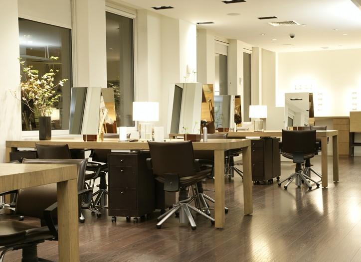 Ric Pipino's salon at Spa Chakra.