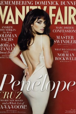 November issue of Vanity Fair