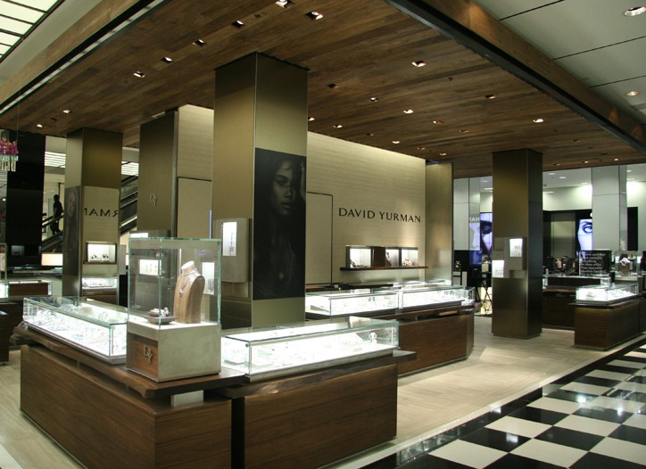 David Yurman's in-store boutique at Bloomingdale's 59th Street.