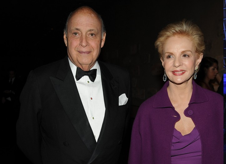 Reinaldo and Carolina Herrera