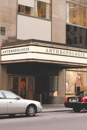 Anthropologie is venturing overseas.