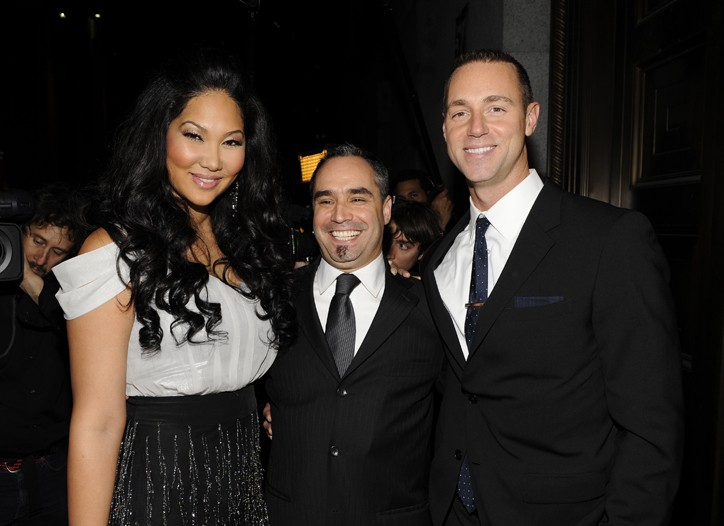 Kimora Lee Simmons, Thomas Krever and Rob Smith.