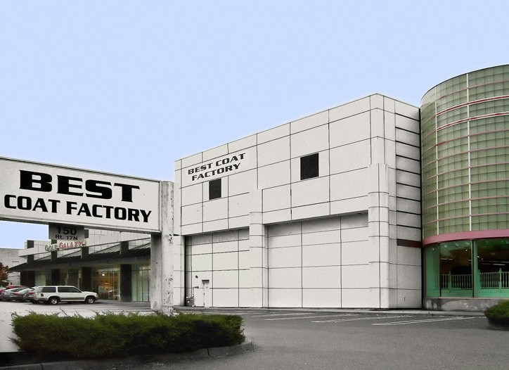 The exterior of the new Best Coat Factory store in Paramus, N.J.
