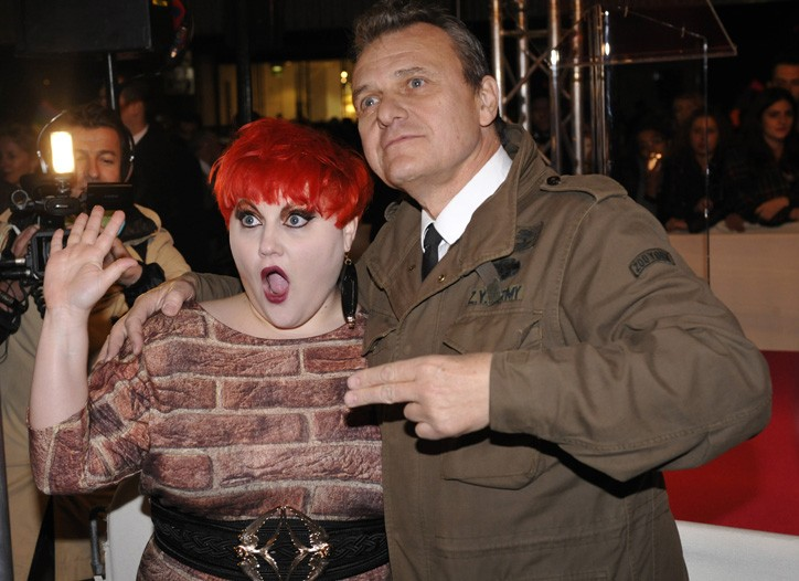 Beth Ditto and Jean Charles de Castelbajac