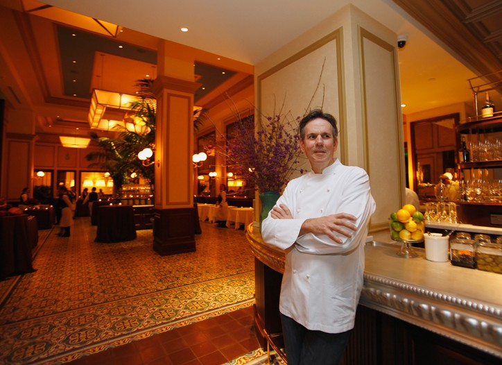 Thomas Keller at Bouchon.