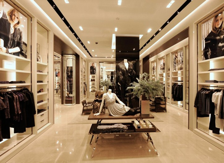 Burberry store in Singapore.