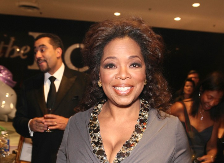 Oprah Winfrey at the Root party.