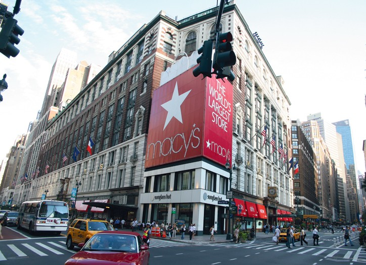 Although Macy's profits and revenues dropped in the quarter, the retailer's results were better than expected.