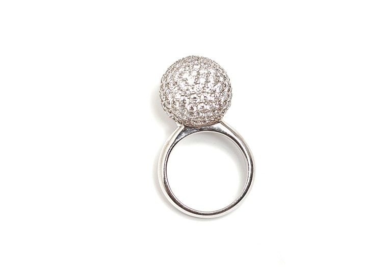 A ZG Jewelry ring.