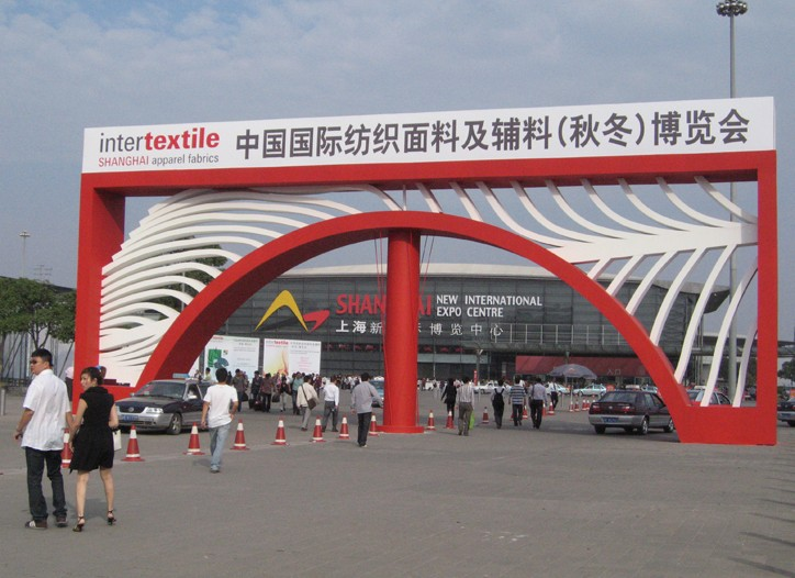 The Intertextile Fabric show drew more than 2,400 exhibitors and 53,000 visitors.
