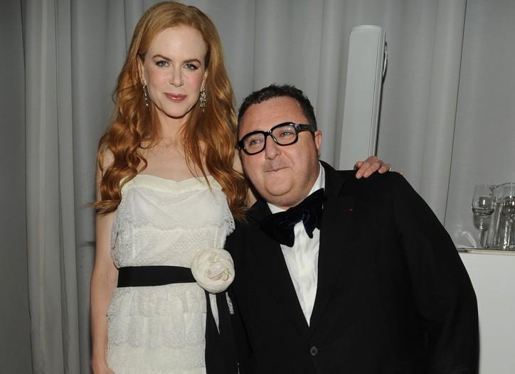 Nicole Kidman and Alber Elbaz