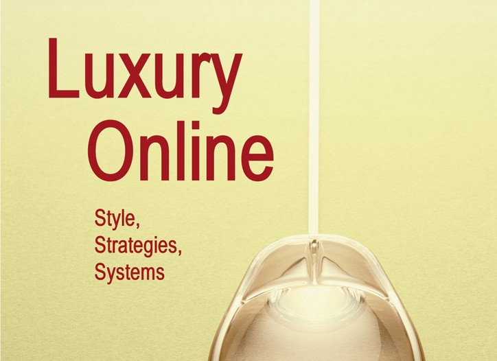 "The cover of ""Luxury Online."""