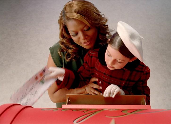 "Macy's holiday TV spot ""The Trek,"" featuring Queen Latifah, begins airing Friday."