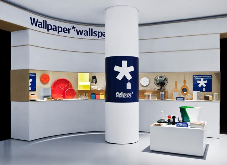 Wallpaper's Wallspace at La Rinascente.