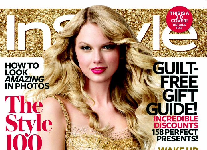 Cover of InStyle magazine.