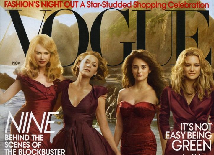 Cover Vogue's November 2009 issue.