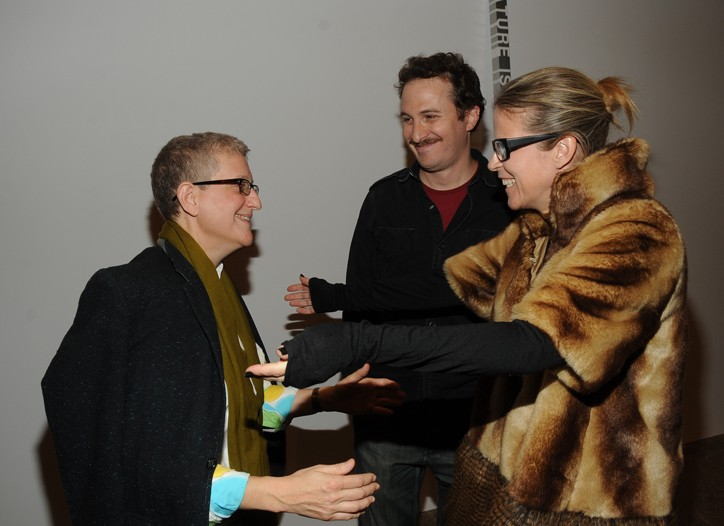 Roni Horn, Darren Aronofsky and Yvonne Force Villareal