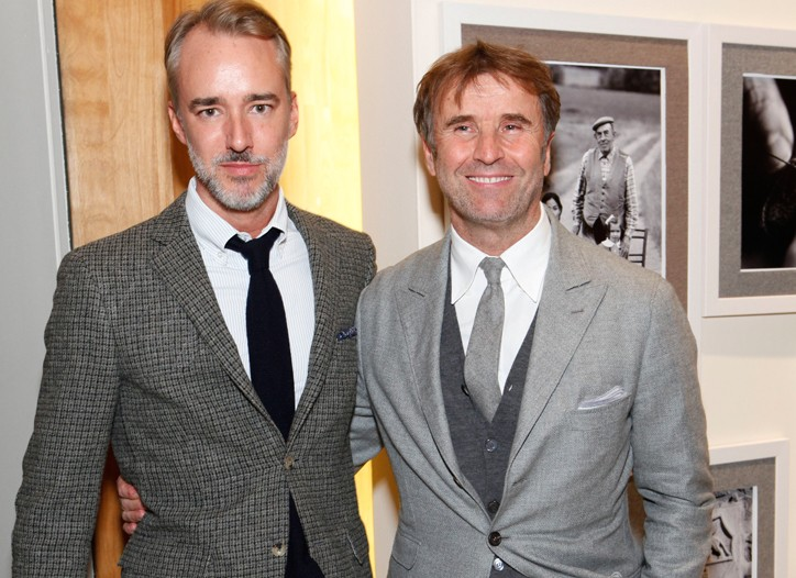 Michael Bastian and Brunello Cucinelli