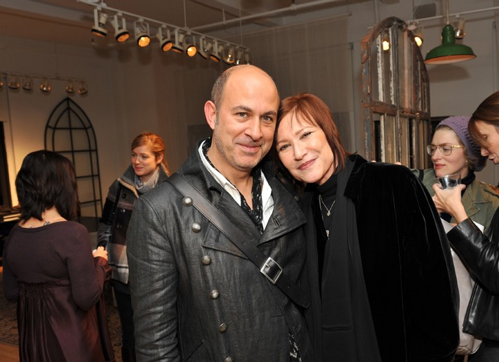 John Varvatos and Rosemary Brantley