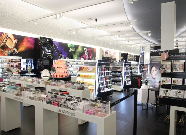 An overview of the store.
