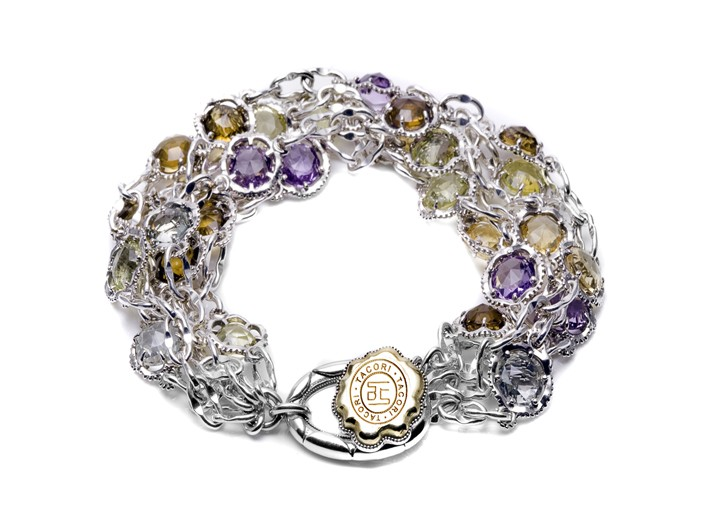 A bracelet from Tacori's 18k925 collection.