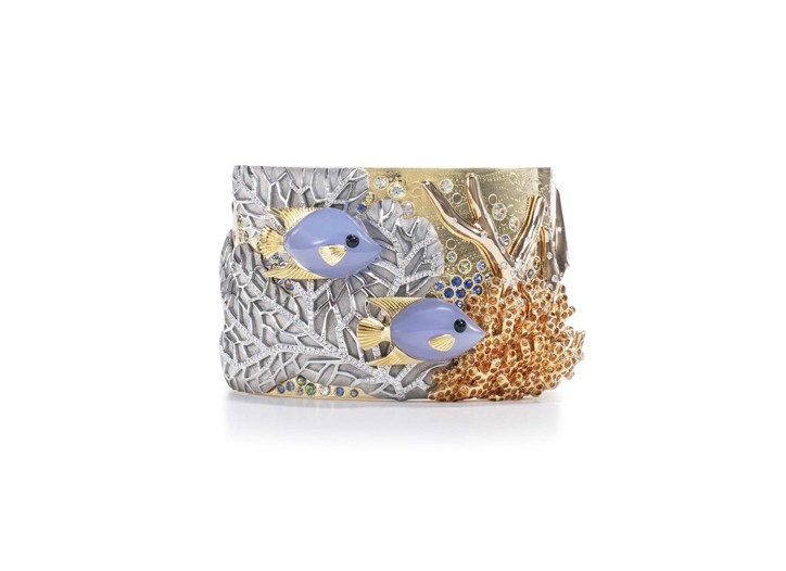 Tiffany & Co.'s coral reef-inspired cuff.
