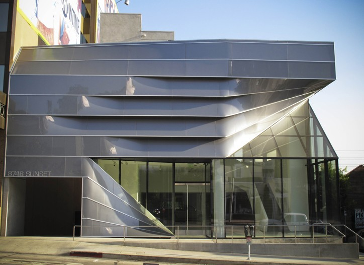 The exterior of Prism.