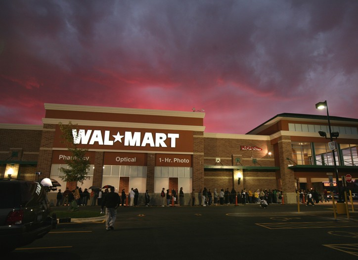 Wal-Mart has nearly $8 billion stockpiled.