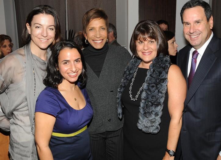 Ann Watson, Nikki Gannon, Sheri Wilson-Gray, Karin and Stephen I. Sadove.